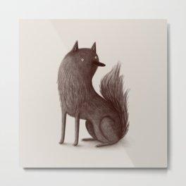 Wolfie Metal Print