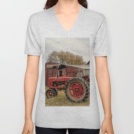 Down on the Farm Unisex V-Neck