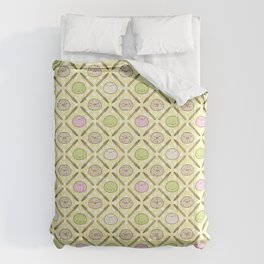 Mochi Kochi | Pattern in Yellow Comforters