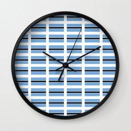 flag of bostwana – Batswana,Motswana,botsuano,botsuanés,Gaborone. Wall Clock