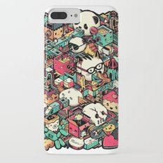 Welcome to Isometric City! iPhone 8 Plus Slim Case