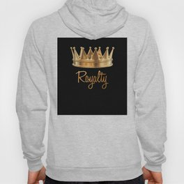 Royalty Gold Crown Hoody