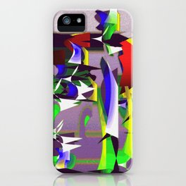 """Madrone Candea """"Robots From The Sea Variation"""" iPhone Case"""