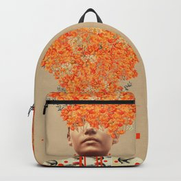 Bird Flight in Autumn Backpack