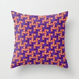 Fields of purple Throw Pillow