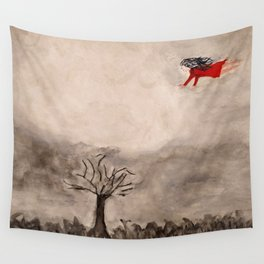 Flying to the Light Wall Tapestry