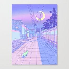 Kyoto Nights Leinwanddruck