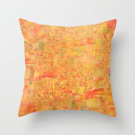 cadmium fusion Throw Pillow