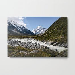 Mount Cook Metal Print