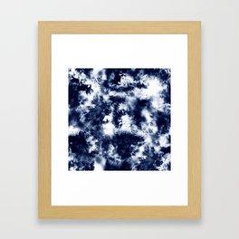 Tie Dye & Batik Framed Art Print