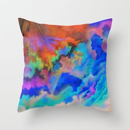 Second Coming Throw Pillow