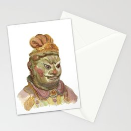 Buddhist statue Stationery Cards