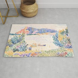 Cap Nègre by Henri-Edmond Cross 1909, French Rug