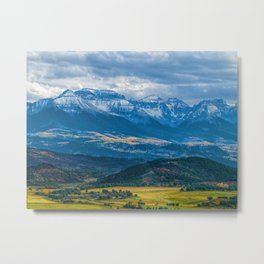 Outside of Ridgway Metal Print