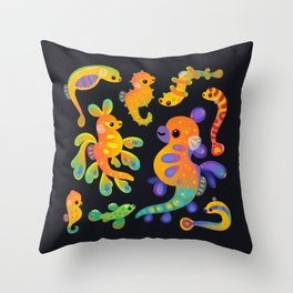 Pipefish Throw Pillow