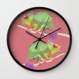 Chameleon. Wall Clock