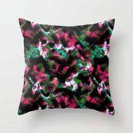 """Watercolor glamour "".  ""Watermelon  juice"" . Throw Pillow"