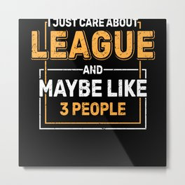 League Colleague Organization Company Metal Print