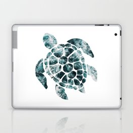Sea Turtle - Turquoise Ocean Waves Laptop & iPad Skin