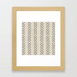 Mudcloth Framed Art Print