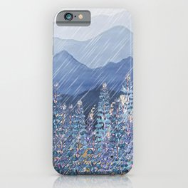 Mountain Lupine  iPhone Case