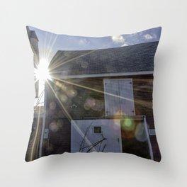 Lane's Barn Throw Pillow