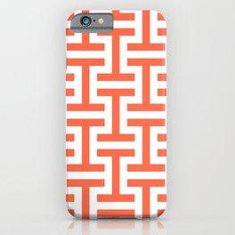 Simple geometric pattern 2 iPhone Case