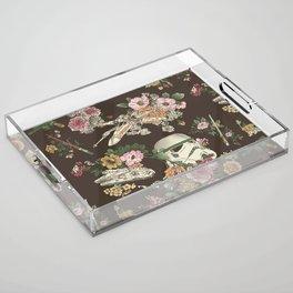"""""""Botanic Wars"""" by Josh Ln Acrylic Tray"""