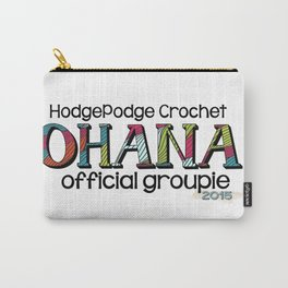 HodgePodge Crochet Ohana 2015 Groupie Design Carry-All Pouch