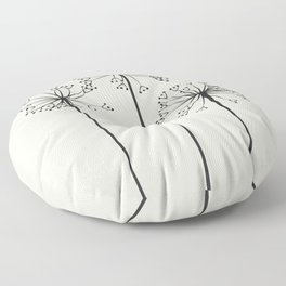 Dandelions Floor Pillow