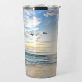 Beach Scene 34 Travel Mug