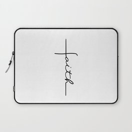 Faith Cross Laptop Sleeve