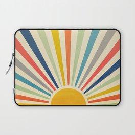 Sun Retro Art III Laptop Sleeve
