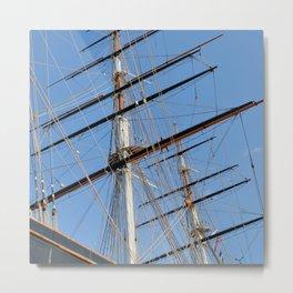 Cutty Sark Sails Metal Print