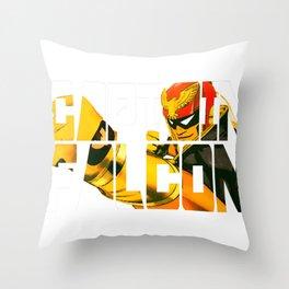 Captain Falcon Throw Pillow