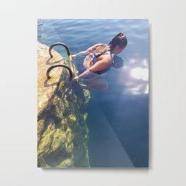 Bacalar Cenote 1 Metal Print
