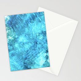 Peaceful and Calming Ocean Water Reflections Meditation Stationery Cards