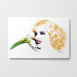 Cherilyn Lillies Metal Print