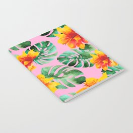 Tropical Monstera Bloom Notebook