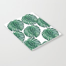 Monstera leaves Notebook