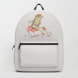 Awkward Toad Backpack