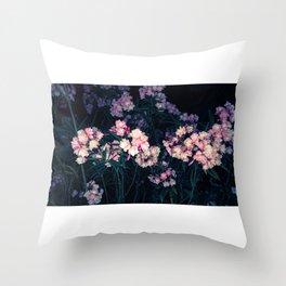 Sorpresa floral Throw Pillow