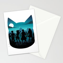 Happy Silhouette Stationery Cards
