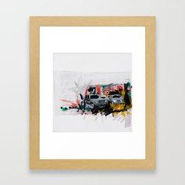 Accident one Framed Art Print