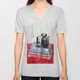 Vintage Style Unisex V-Neck