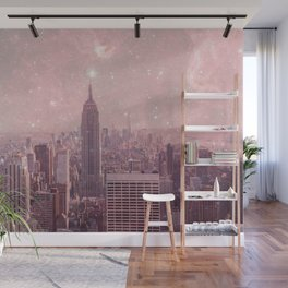 Stardust Covering New York Wall Mural