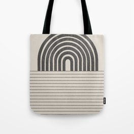 Rainbow and Ocean Balance Tote Bag