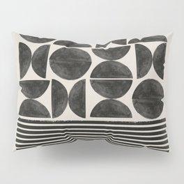 Woodblock Art, Warm Tone Pillow Sham