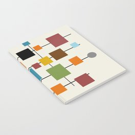 Mid-Century Modern Art 1.3 Notebook