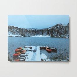 Lake Sylvan, South Dakota Metal Print